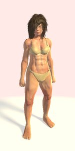 3D rigged female version