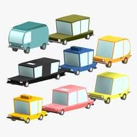 3D car pack