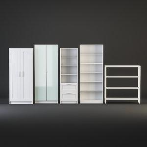 3D cabinet ikea model