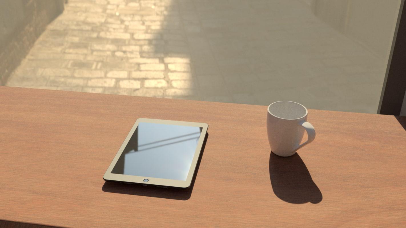 coffee shop windows model