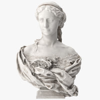 3D countess armand bust