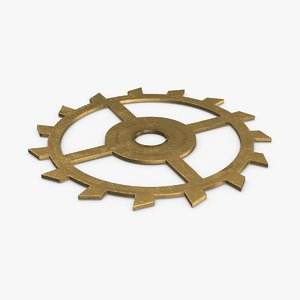 clock-gears-02---gear-v1 3D model