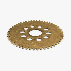 clock-gears-02---gear-v3 3D