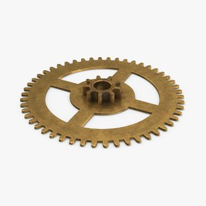 clock-gears-02---gear-v4 3D model