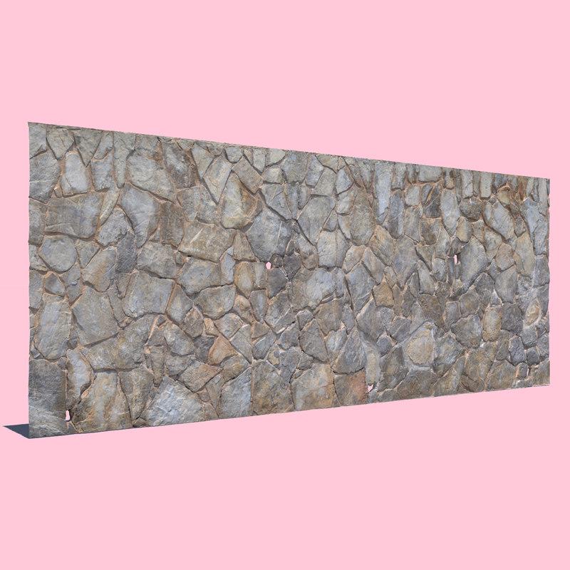 stone wall model