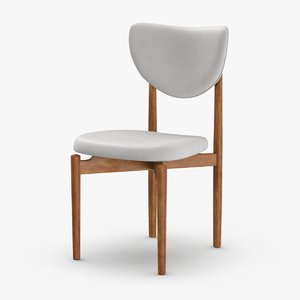 3D mid-century-modern-chair