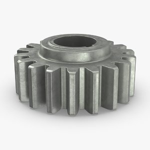 industrial-gears-02---gear-02 3D model