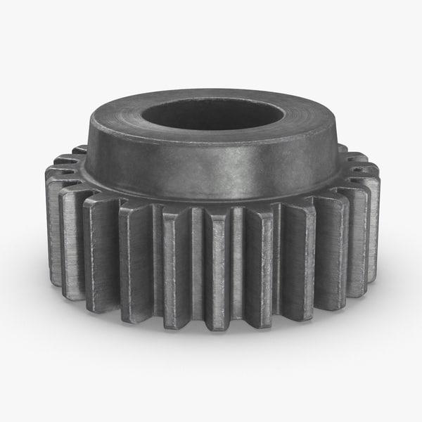3D industrial-gears-02---gear-03 model
