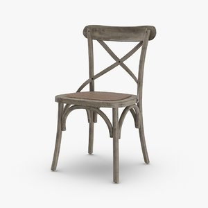 3D model transitional-chair