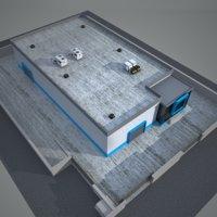 factory 6 industrial 3D model