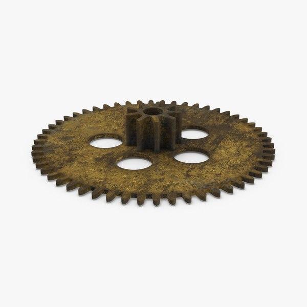 3D clock-gears-01-dirty---gear-2 model