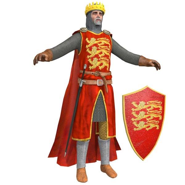 richard lionheart knight helmet 3D