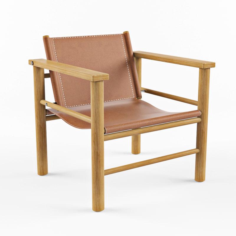 armchair hanna emma 3D model