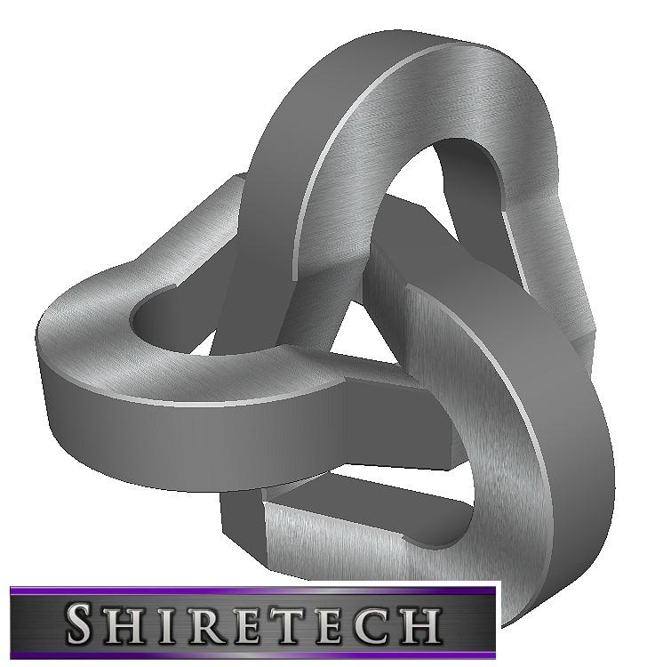 metal art sculpture 09 3D model