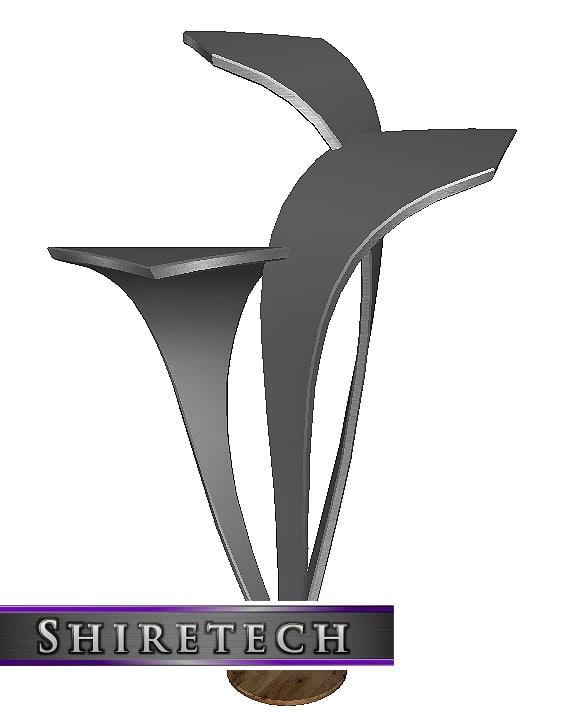 3D model metal art sculpture 10
