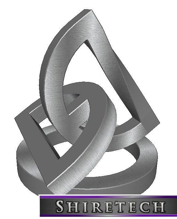 metal art sculpture 11 3D model