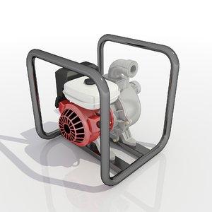 waterpump pump 3D model