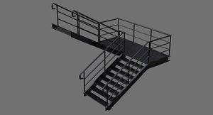 3D stair 1a
