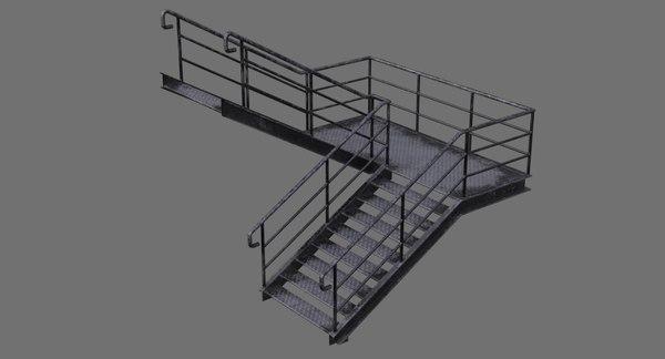 stair 1b model