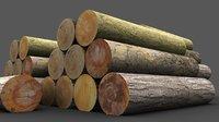 3D lumber timber