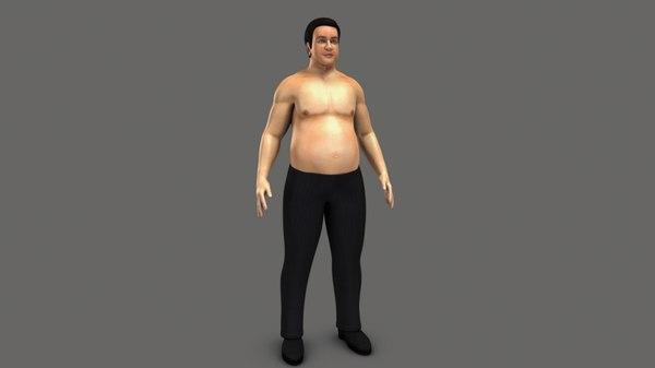 3D obesity body mass
