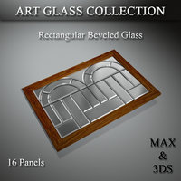 art glass set 3D model