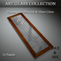 3D art glass set 10