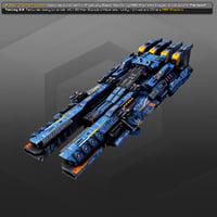 dreadnought sr3 3D model