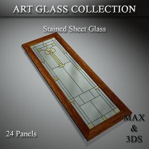 3D art glass set 15