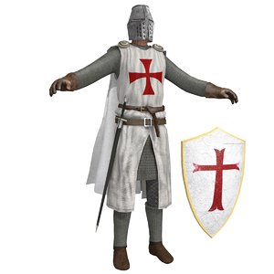 crusader knight 3D