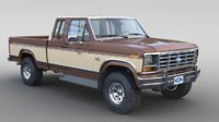 1986 Ford F-150 Supercab