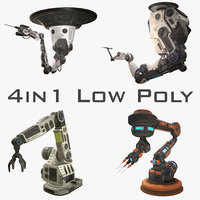 robotic arms 3D model