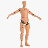 Male Car Crash Dummy 01