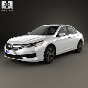 honda accord lx 3D model