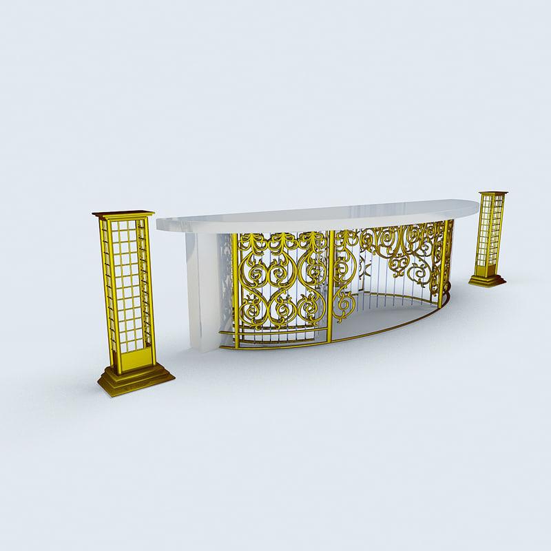 3D fabulous table model