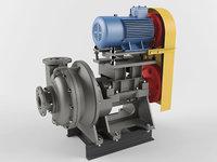 centrifugal pump 3D model