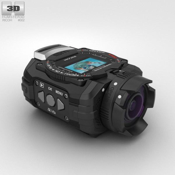 ricoh wg-m1 black 3D