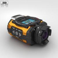 3D ricoh wg-m1 orange