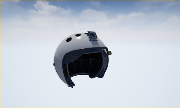helmet airforce fly 3D