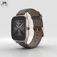 asus zenwatch 2 3D model