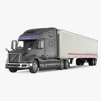 Semi Trailer Truck 3d Models For Download Turbosquid