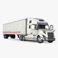 3D vnl 860 truck 2018