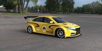 lada vesta wtcc concept 3D model