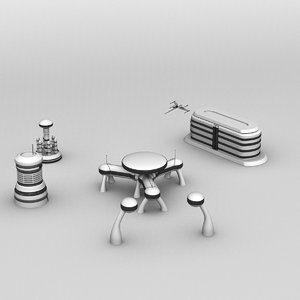 buildings future 3D model