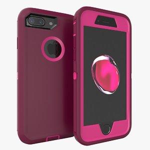 iphone 7 case 3D model