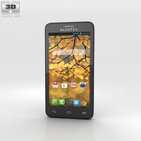 alcatel touch fierce 3D model