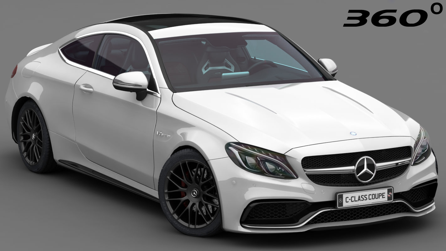 3D mercedes-benz c63 amg coupe