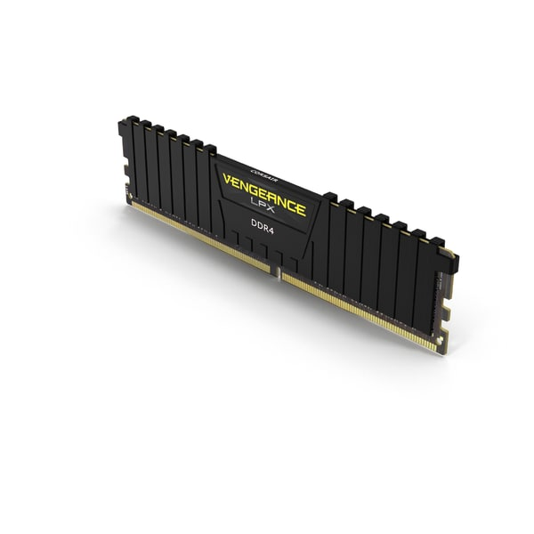 3D model ram corsair vengeance black