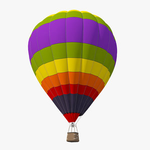 realistic air balloon 3D