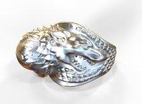 thrones ring 3D model